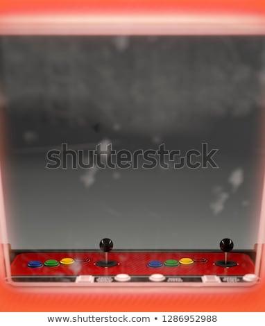 Vintage Arcade Machine Outward Viewpoint Stock photo © albund
