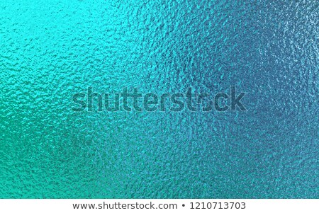 Turquoise foil background Stock photo © blackmoon979