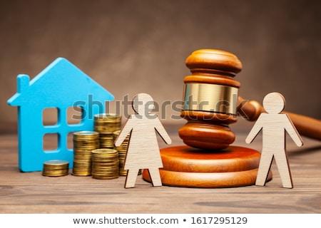 судья развод суд семьи прав пару Сток-фото © AndreyPopov
