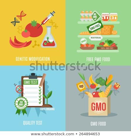 аннотация организм продовольствие промышленности biotech Сток-фото © RAStudio