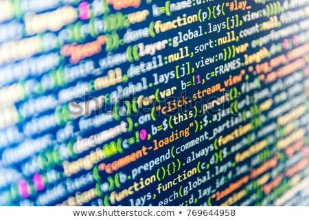 closeup photo of a thin laptop stock photo © hasloo