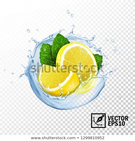 オレンジ · レモン · 石灰 · ジュース · スプラッシュ · 抽象的な - ストックフォト © ozaiachin