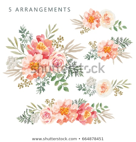 erik · çiçekler · yeşil · bahçe - stok fotoğraf © koufax73