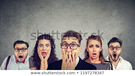 Scared business Stock photo © photography33