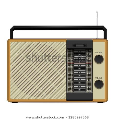 Wood Case Speaker Stock photo © Kaludov