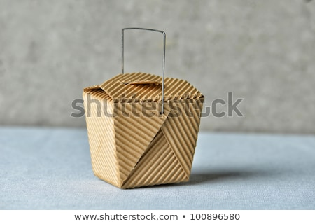 általános doboz kép újrahasznosított barna karton Stock fotó © gregory21