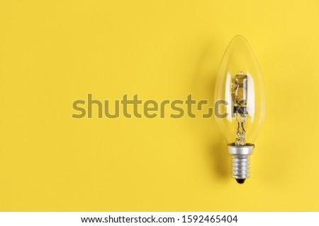 energie · besparing · tl · gloeilamp · pad · compact - stockfoto © jakatics