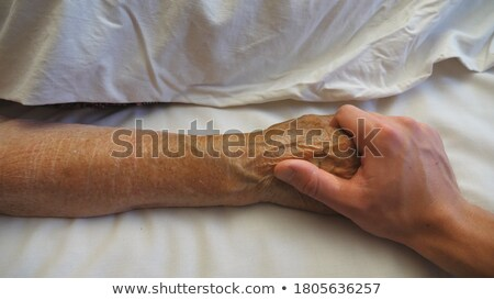 Man supporting his grandson Stock photo © photography33