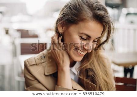 beautiful city woman Stock photo © ssuaphoto