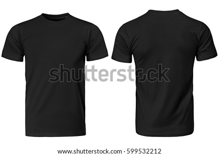 férfi · fekete · póló · lövés · divat · hát - stock fotó © dolgachov