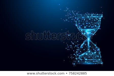 Time Concept on Triangle Background. Stock photo © tashatuvango