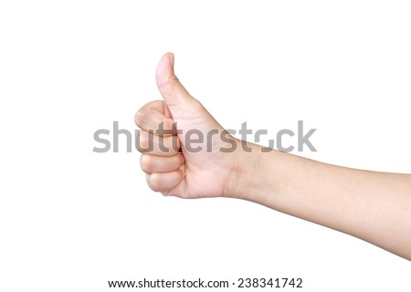 Young woman showing help sign on white background Stock photo © bmonteny
