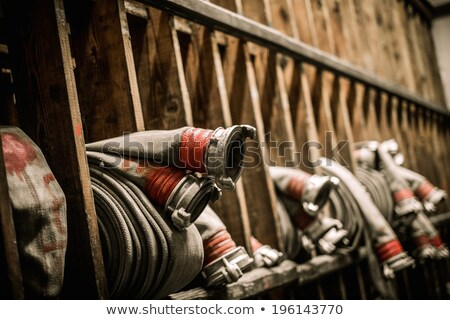 strażak · ognia · budynku · pokój · pracy - zdjęcia stock © nejron