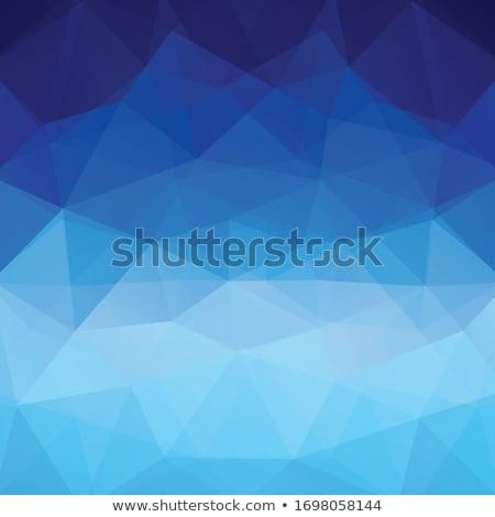 Tech mértan kék vektor design sablon absztrakt Stock fotó © saicle