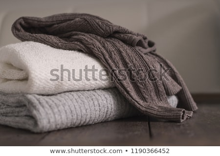 Wollen trui cardigan gebreid patroon textuur Stockfoto © stevanovicigor