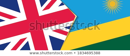 United Kingdom and Rwanda Flags Stock photo © Istanbul2009
