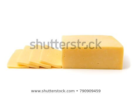 Block of cheese Stock photo © Digifoodstock