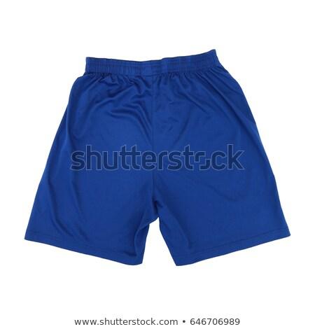 blue shorts with a pattern isolate stock photo © ruslanomega
