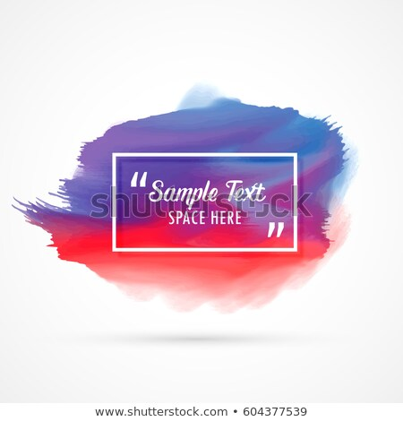 awesome watercolor stain background with sample text space Stock photo © SArts