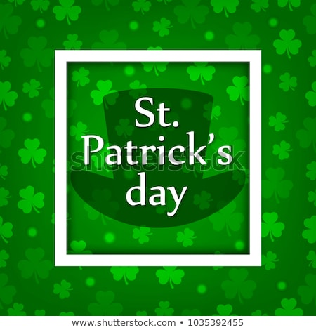 St.Patrick's Day postcard Stock photo © adrenalina
