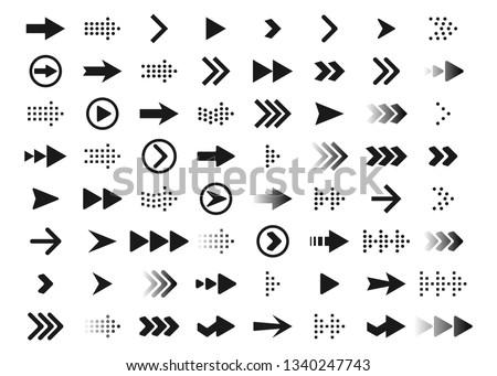grande · colección · icono · símbolos · vector · establecer - foto stock © blue-pen