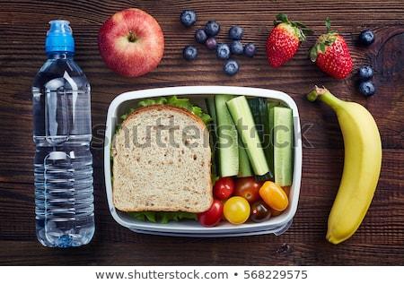 healthy lunch box Stock photo © M-studio