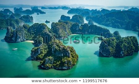 longo · nascer · do · sol · Ásia · cruzeiro · turismo - foto stock © photosil
