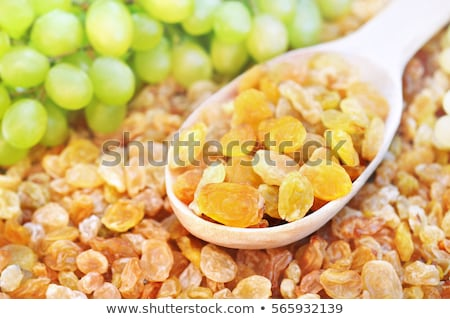 doce · passas · de · uva · branco · fruto · amarelo · semente - foto stock © digifoodstock