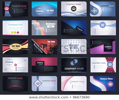 ingesteld · geslaagd · kantoorwerk · strategie · banners · werknemers - stockfoto © genestro