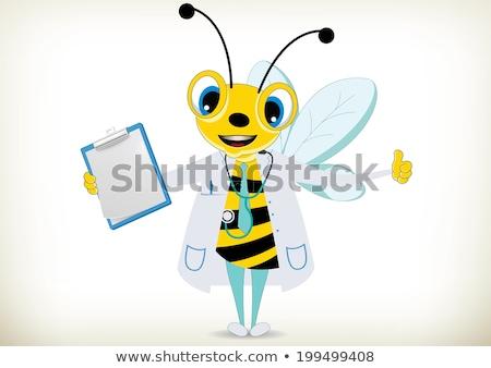 Bee · врач · дизайна · 10 · улыбка · медицинской - Сток-фото © cthoman