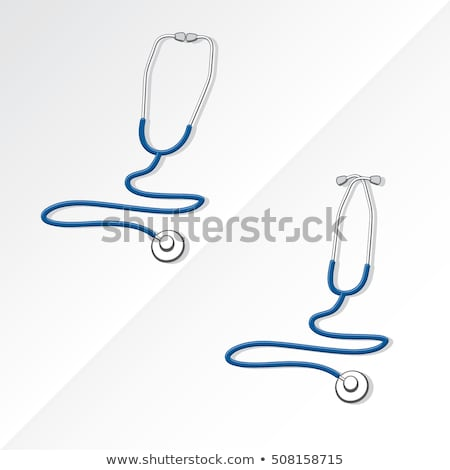 stetoskop · ikona · kliniki · kardiologia · piktogram · wektora - zdjęcia stock © imaagio