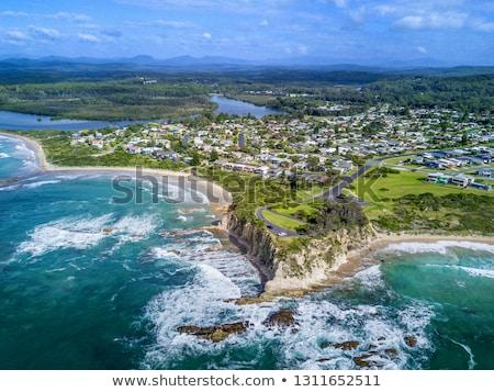 Tomakin aerial views of beaches and escarpment Stock photo © lovleah