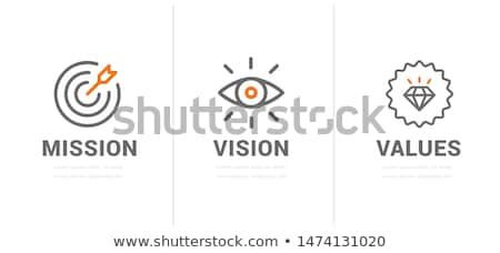 business mission concept landing page stock photo © rastudio