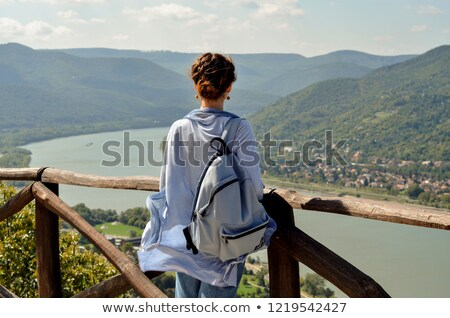 around Danube river Stock photo © prill