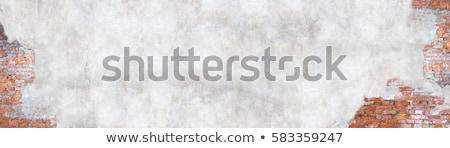 öreg téglafal törés sérült mintázott függőleges Stock fotó © simazoran