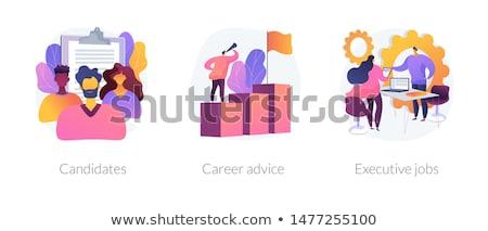 HR service abstract concept vector illustrations. Stock photo © RAStudio