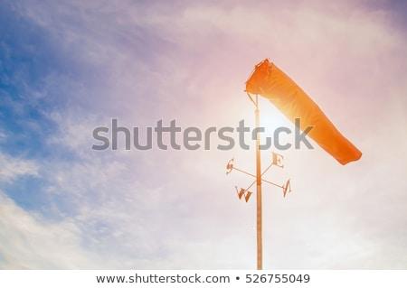 аэропорту · красный · Storm · ветер · фоны · воздуха - Сток-фото © latent