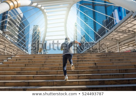 Business Background with Moden City stock photo © WaD