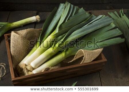 Vers groene prei markt tuin Stockfoto © juniart