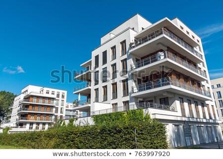 Apartment Condo Exterior Stock photo © cr8tivguy