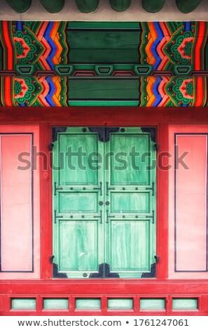 Westminster · apátság · fő- · bejárat · építészeti · részlet · kapualj - stock fotó © searagen