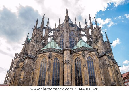 Gothique architecture Prague Photo stock © Sarkao