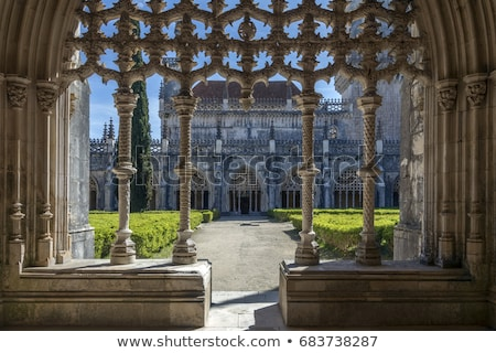 Batalha monastery Stock photo © dinozzaver