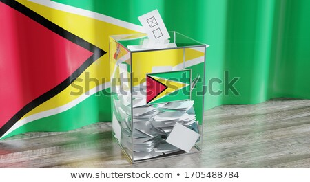 Ballot box Guyana Stock photo © Ustofre9