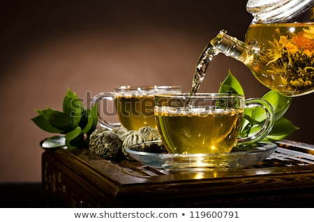 чайник чай Кубок церемония натюрморт Сток-фото © ryhor