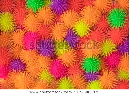 ball of multi-colored rubber thread isolated Stock photo © pxhidalgo