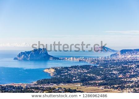 wonder · middellandse · zee · zee · balkon · oceaan - stockfoto © lunamarina