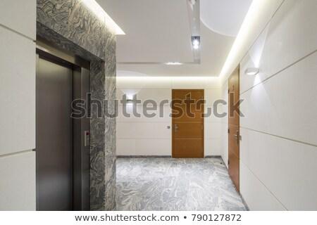 Apartment Block Entrance Stock photo © silkenphotography
