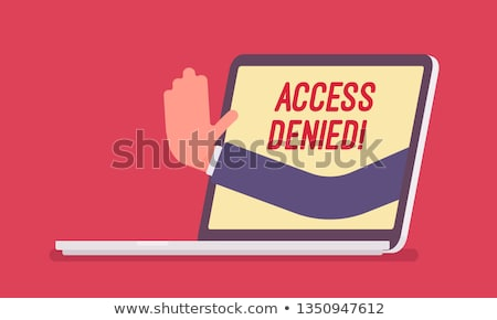 Access Denied Stock photo © idesign