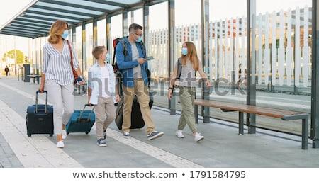 cute husband carrying beautiful wife stock photo © stryjek